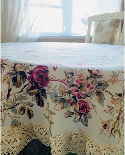 Салфетка на скатерть из водоотталкивающей ткани Прованс